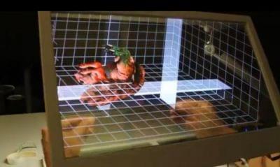 Computador com interface 3D é apresentado por aluno do MIT