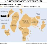 Pesquisadores descobrem um microcontinente denominado Mauritia